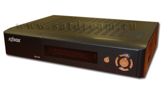 AZBox Elite HD вид спереди