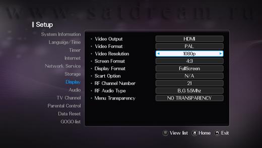 Поддрежка разрешения 1080p