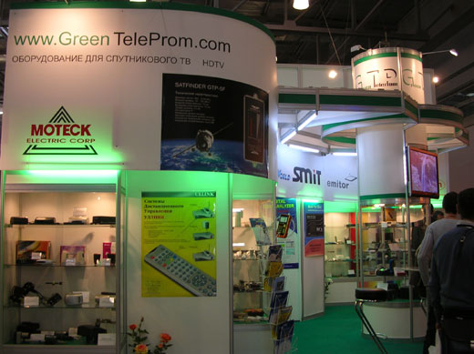 Стенд GreenTeleprom