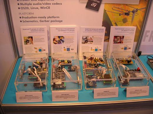 Отладочные платы ST Microelectronics