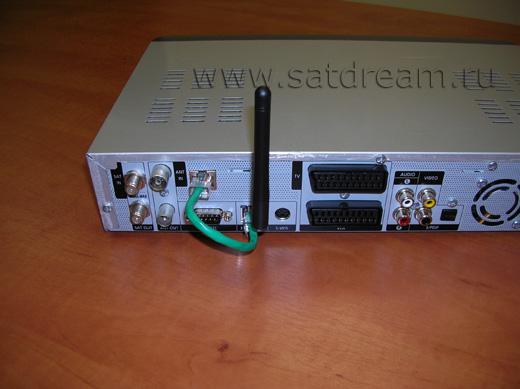 WiFi Антенна и гнездо RJ45